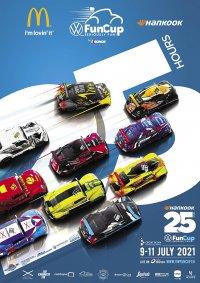 De affiche van de Hankook 25 Hours VW Fun Cup 2021