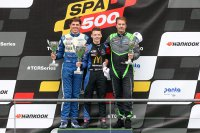 Podium Dutch Belgian Super Star - TCR Spa 500