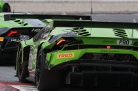 De schade aan de Lamborghini deed GRT twee ronden verliezen