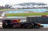 Sebastian Vettel beleeft een relatief rustige race