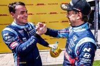 Norbert Michelisz met Augusto Farfus (BRC Racing)