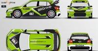 Skoda Fabia Supercar - ESmotorsport