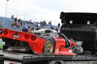 De ongelukkige Mosler MT900R van Kevin Riley