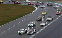 Start ADAC GT race 1 Hockenheim