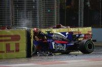 De crash van Daniil Kvyat
