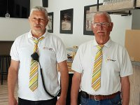 Rudi Raemaekers, links op de foto