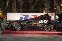 Voorstelling van de BR1 in de paddock van Bahrein