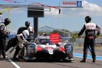 Driedaagse test van Toyota in Paul Ricard
