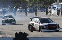 Niclas Grönholm & Timur Timerzyanov met Hyundai i20 RX