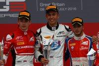 Podium race 1 GP3 Silverstone