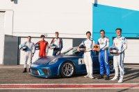Junior selectie Porsche Carrera Cup Benelux