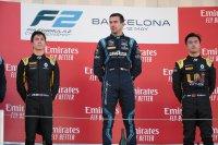 Podium hoofdrace Barcelona