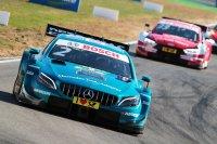 Gary Paffett (Mercedes) voor René Rast (Audi)