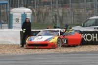 Matt Griffin stapte ongedeerd uit zijn Ferrari