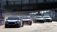 Start Jaguar I-Pace eTrophy Berlijn I race 1