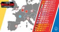 Kalender Nascar Whelen Euro Series 2019
