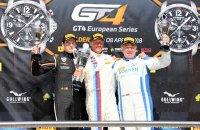 Podium Belgium GT 4 Cup race 2