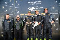 Podium Lamborghini Cup klasse Silverstone