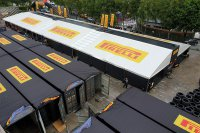 Pirelli-infrastructuur in Spa