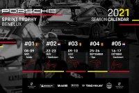 Kalender Porsche Sprint Trophy Benelux 2021