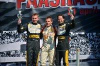 Podium Clio Cup Zandvoort - race 1