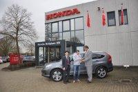 Reeds kind aan huis bij Honda Belgium