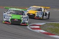 WRT Audi's #2 vs. #17