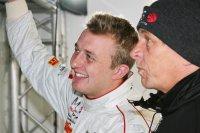 Blije gezichten bij Craig Dolby en MRS GT Racing