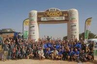 Africa Eco Race 2020: Tevreden gezichten aan de finish