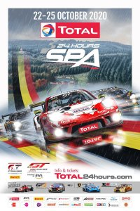 Derde poster 24 Hours of Spa 2020