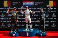 Podium Porsche Carrera Cup Benelux race 2 Assen
