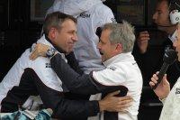 Bart Mampaey, met sportchef Jens Marquardt: negende DTM-seizoen