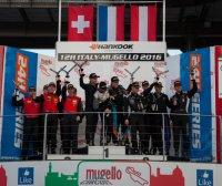 Podium Hankook 12H Italy-Mugello