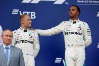 Valtteri Bottas en Lewis Hamilton