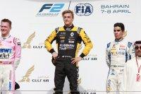 Podium race 2 Bahrein