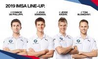 BMW 2019 IMSA line-up