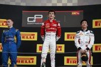 Podium race 1 Spanje