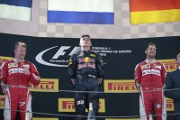 Kimi Raikkonen - Max Verstappen - Sebastian Vettel