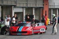 Curbstone Corse Ferrari 458 GT3 - Pilotenwissel