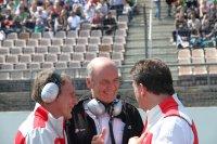 Lachende gezichten bij Audi Motorsport