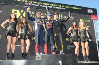 Podium WorldRX Noorwegen 2015