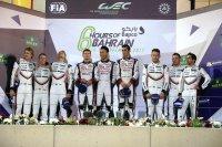 Podium FIA WEC 6H Bahrein 2017