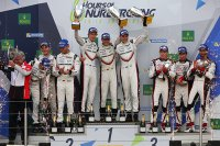 Podium FIA WEC 6H Nürburgring 2017