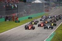Start 2019 F1 GP van Italië
