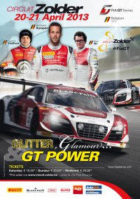 FIA GT Series Circuit Zolder 2013