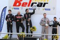 Algemeen podium Belcar het New Race Festival 2015