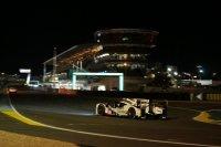 Het huidige pitgebouw in Le Mans
