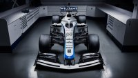 De nieuwe livery van de Williams FW43