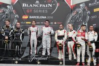 Podium Qualifying Race Barcelona