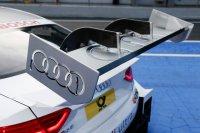 Geactiveerd DRS op de achtervleugel van de Audi RS 5 DTM